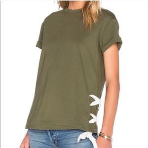 The fifth label. Nordstrom. Late night lace up top